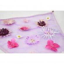 お花の三角巾