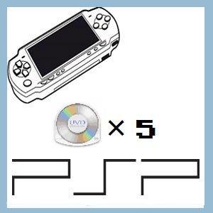 (セット)店長のきまぐれ / PSPソフト5本セット