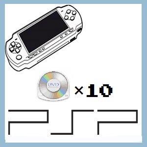 (セット)店長のきまぐれ / PSPソフト10本セット
