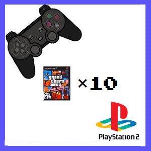 (セット)店長のきまぐれ / PS2ソフト10本セット