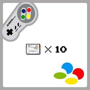 (セット)店長のきまぐれ/ スーパーファミコンソフト10本セット