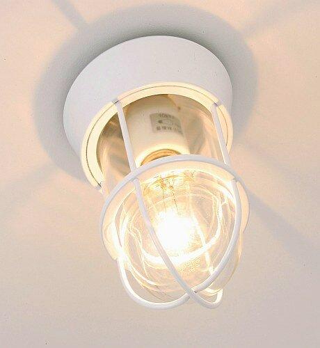 ナチュラルスタイル ホワイト仕上げ真鍮灯