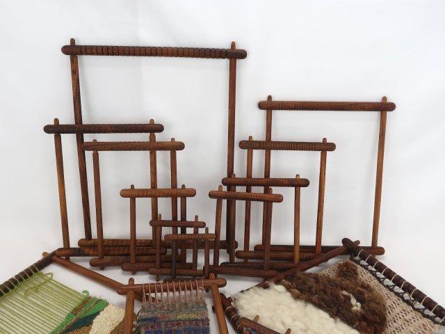 織り木枠(紫檀製)