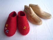 フェルト靴木型