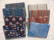 木版更紗の布張りノート・特大