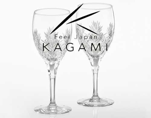 ボナール ペア(赤)ワイングラス [KWP274-2532]|カガミクリスタル