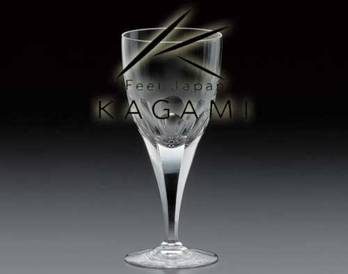 ロイヤルライン - 赤ワイングラス [K810-72]|カガミクリスタル