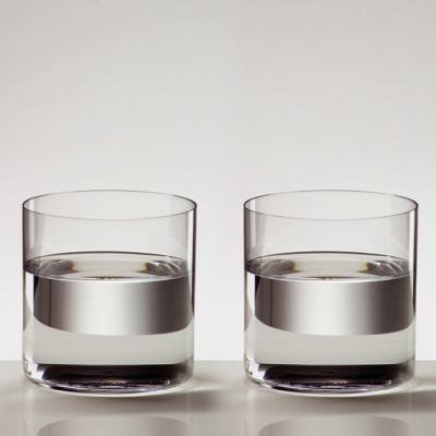 カットクリスタル - 金赤&青ペアワイングラス [#2082]|カガミクリスタル