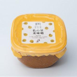 二代目礼治味噌<br>仏の里麦味噌 750g