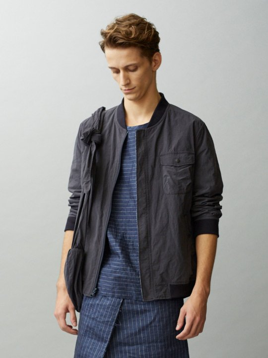 TROVE / PLAYA BLOUSON / NAVY CHARCOAL