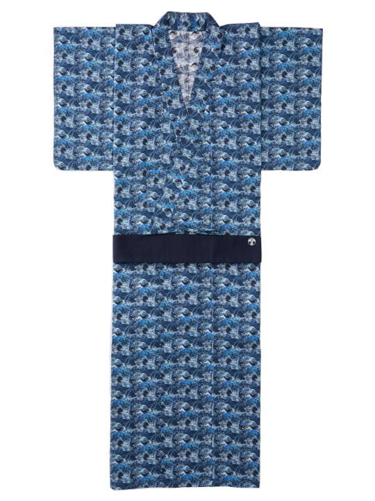 和ROBE / LIBERTY YUKATA / SEA NAVY