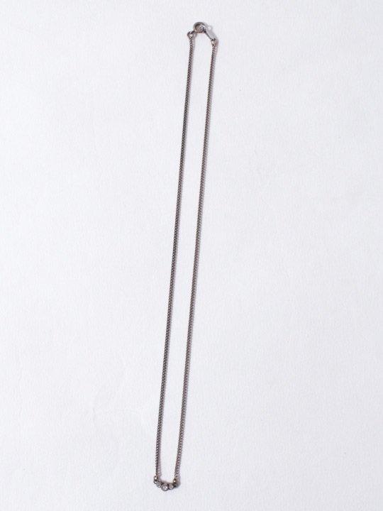 TROVE / TRIPLE STAR NECKLACE / SILVER photo