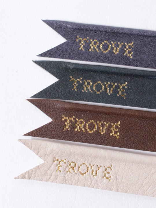 TROVE / WIRE RIBBON by iqmi / BROWN photo