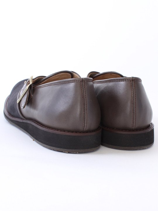 TROVE / STOROLL LEATHER SHOES ( SHOP LIMITED ) / CHARCOAL photo