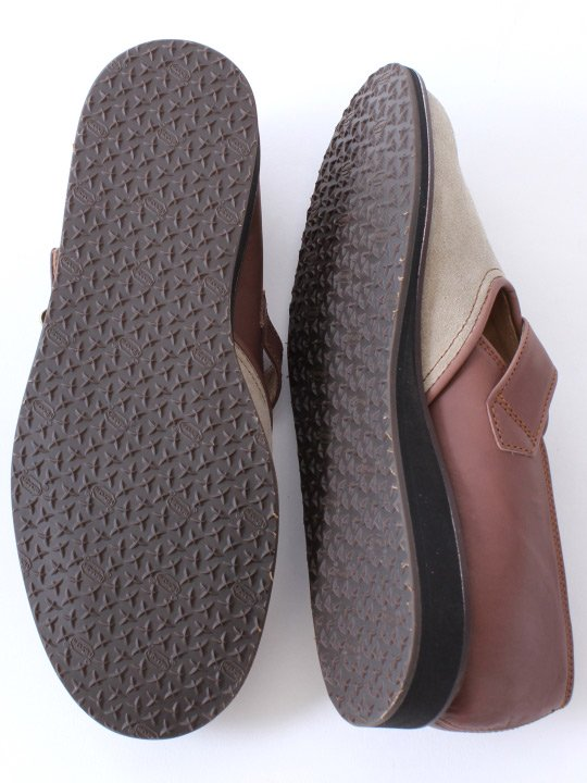 TROVE / STOROLL LEATHER SHOES ( SHOP LIMITED ) / GRAY BROWN photo