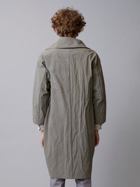TROVE / PAPERI COAT / KHAKI GRAY photo