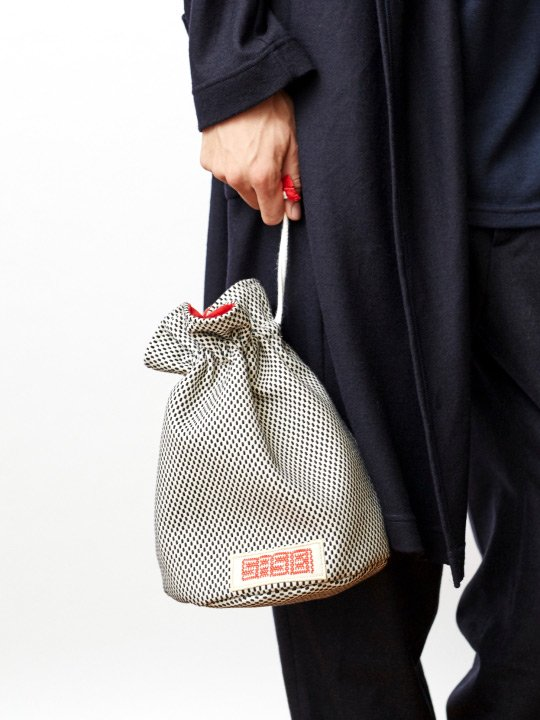 SASIBI / DRAWSTRING BAG / CHU photo