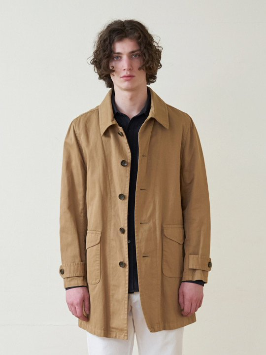 A.TAKA / COAT / BEIGE photo