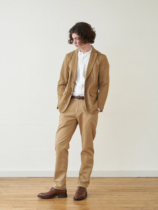 A.TAKA / 2B JACKET / BEIGE photo