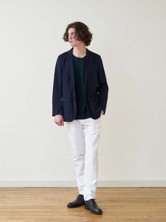 A.TAKA / 2B JACKET / NAVY photo