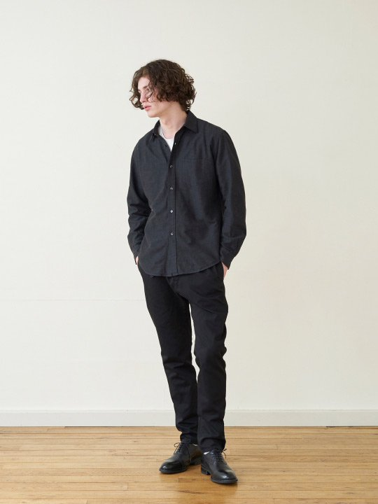 A.TAKA / EASY PANTS / BLACK photo