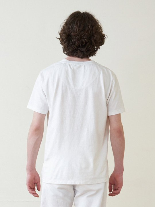 A.TAKA / POCKET TEE / WHITE photo