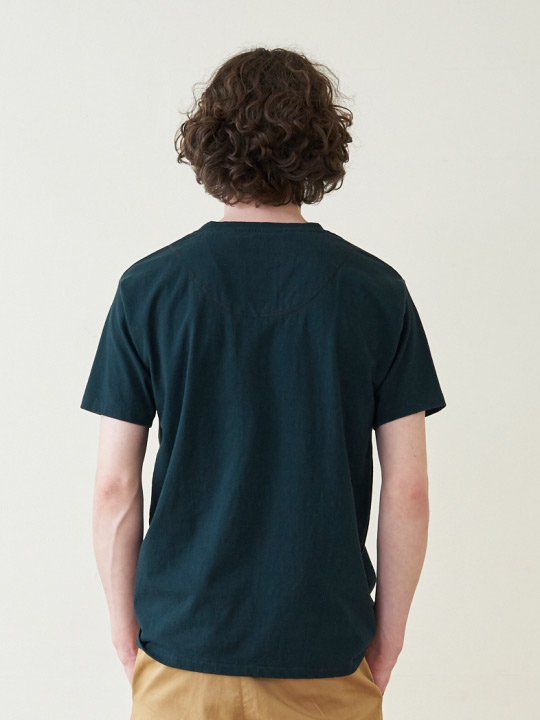 A.TAKA / POCKET TEE / DARK GREEN photo