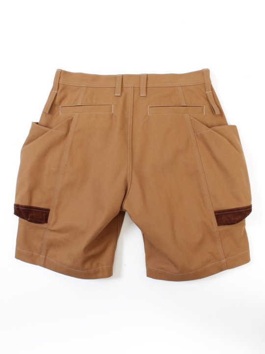 TROVE x 岡部文彦 / BIG POCKET SHORTS ( HUNTING ) / CAMEL photo