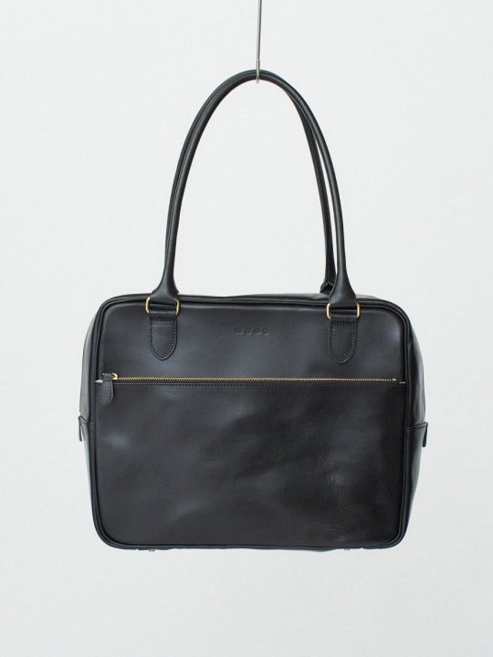 【受注生産】BRITANNIA LEATHERS / BOSTON BAG / BLACK photo
