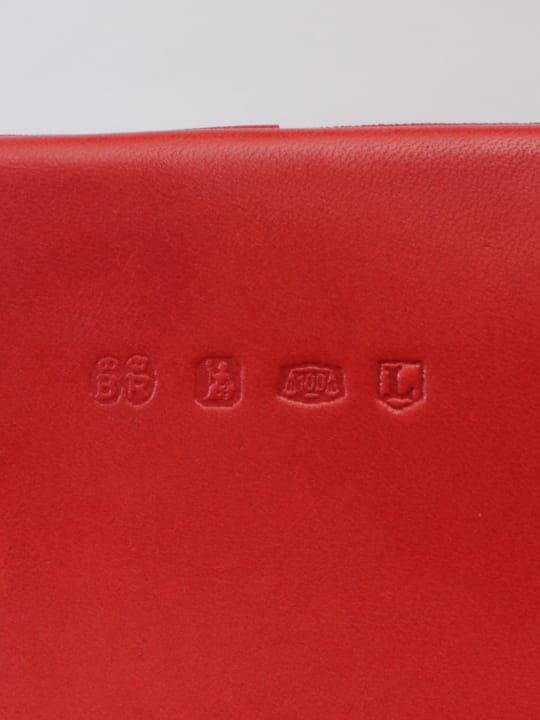 【受注生産】BRITANNIA LEATHERS / BOSTON BAG / RED photo