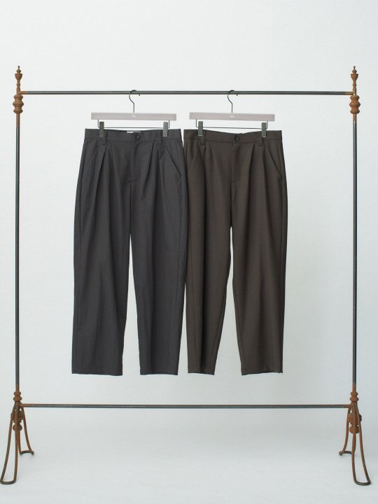 TROVE / MJUK WIDE PANTS ( SHOP LIMITED ) / CHARCOAL photo