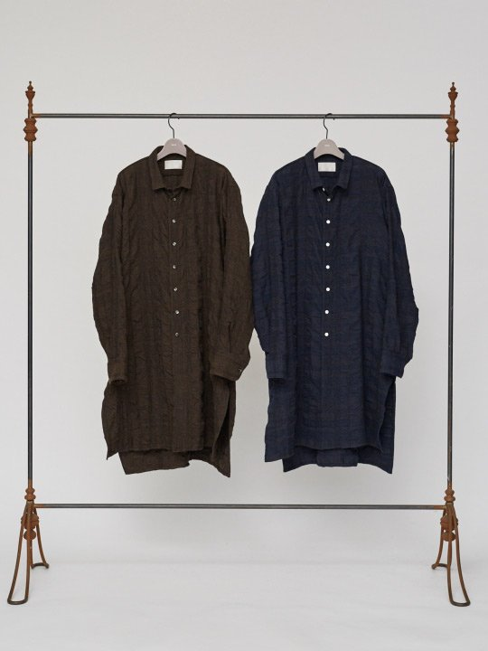TROVE / VARJO LONG SHIRT / BROWN photo