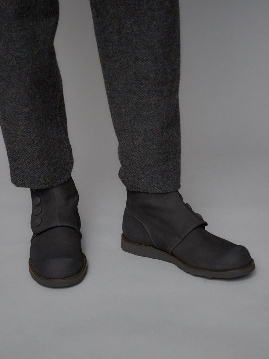 TROVE / POROMIES BOOTS ( WATER GUARD LEATHER ) / CHARCOAL photo