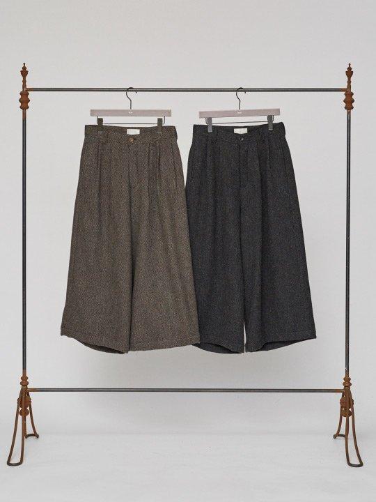 TROVE / KISSA WIDE PANTS / GRAY BROWN photo