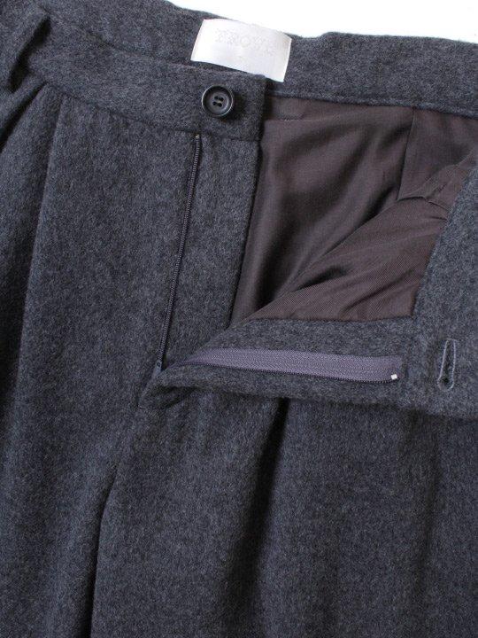 【予約商品】TROVE / MJUK WIDE PANTS / GRAY photo