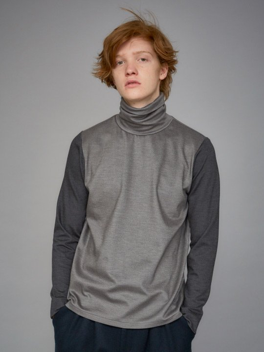 TROVE / SAMA TURTLE NECK / GRAY photo