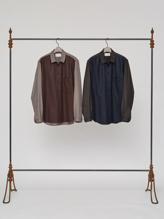 【予約商品】TROVE / FADE SHIRT / NAVY photo