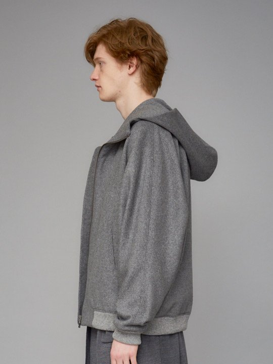 TROVE / POROMIES HOODED BLOUSON / GRAY photo