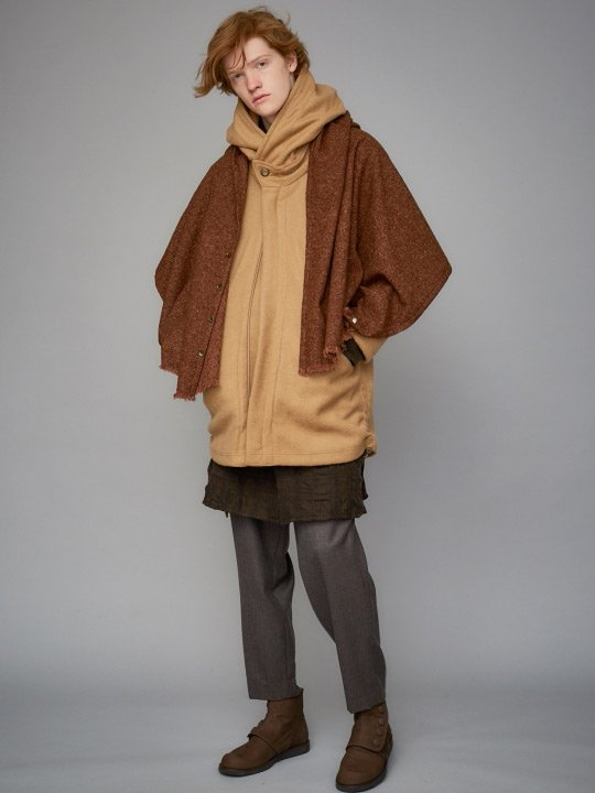 TROVE / ALK LONG COAT / CAMEL photo