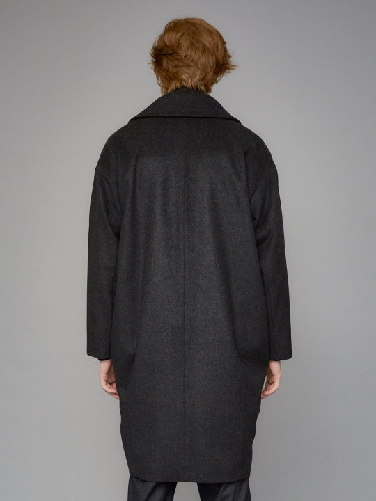 TROVE / SAPMI COAT / CHARCOAL photo
