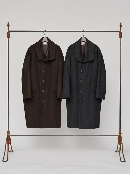 【予約商品】TROVE / SAMPI COAT / CHARCOAL photo