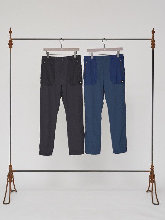 【予約商品】TROVE / LAMPO PANTS / NAVY photo
