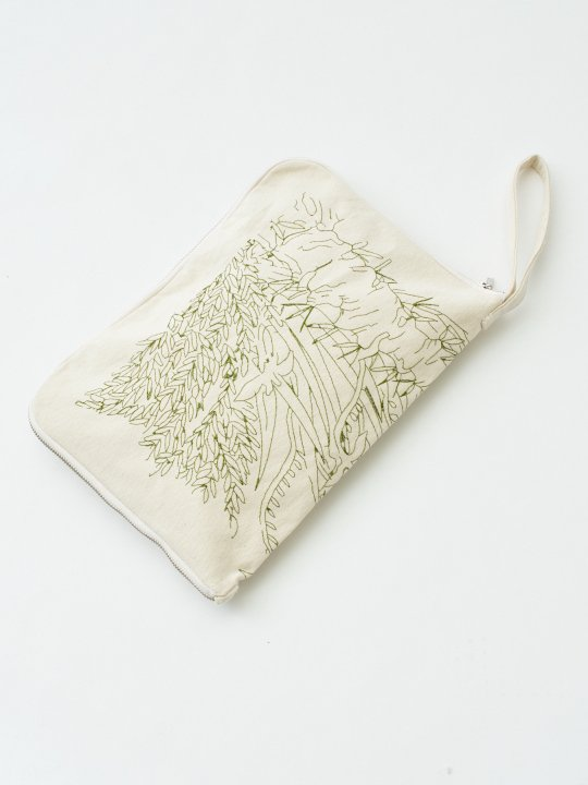 TROVE / BOTANICAL CLUTCH BAG ( SHOP LIMITED ) photo