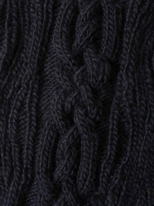 【予約商品】TROVE / KASI KNIT LOOP MUFFLER / BLACK photo