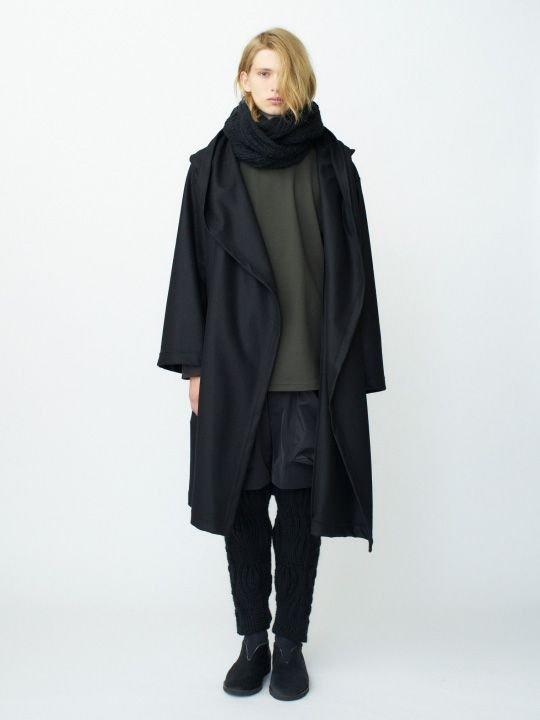 【予約商品】TROVE / KASI KNIT PANTS / BLACK photo