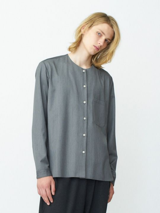 【予約商品】TROVE / PUKU SHIRT / GRAY photo
