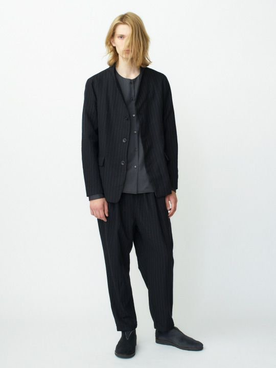 【予約商品】TROVE / PUKU SHIRT / CHARCOAL photo