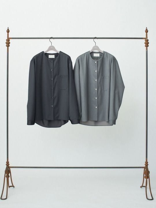TROVE / PUKU SHIRT / CHARCOAL photo