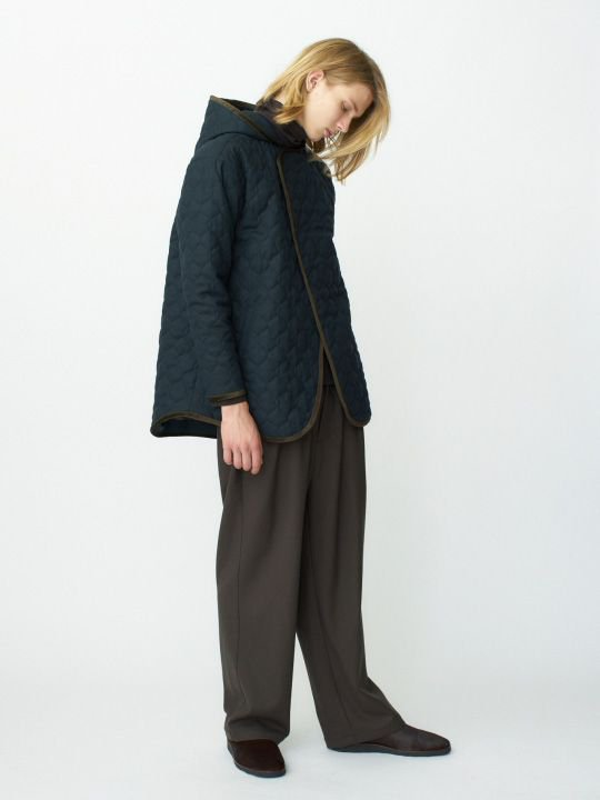 TROVE / NOPOLA HOODED BLOUSON / DARK GREEN photo
