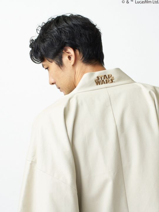 【 PRE-ORDER】WAROBE / STAR WARS HAORI / IVORY photo